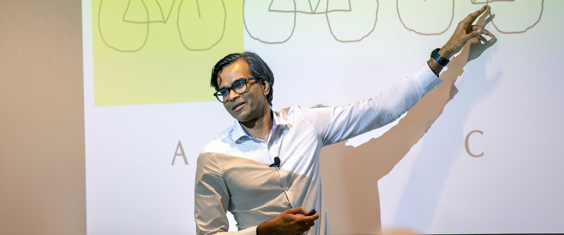 Sendhil Mullainathan teaching
