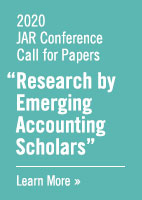 2020 JAR Conference Call for Papers