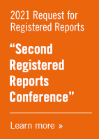 2021 Request For Registered Reports