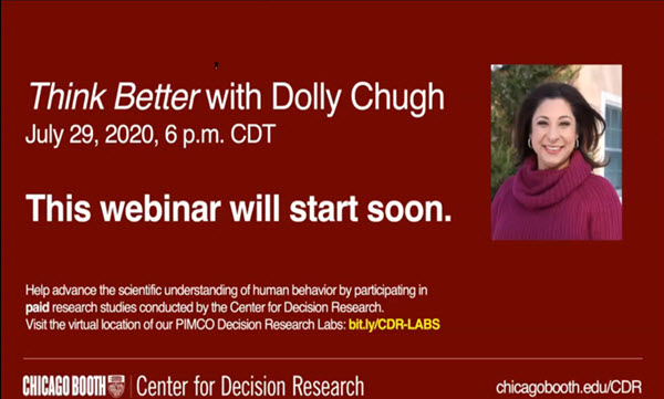 Think Better with Dolly Chugh