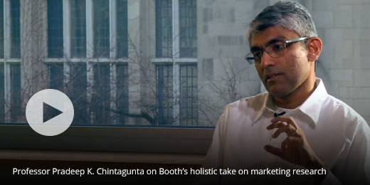 Professor Pradeep K. Chintagunta on Booth's holistic take on marketing research