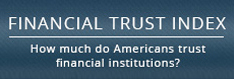 Financial Trust Index, How much do Americans trust financial institutions?