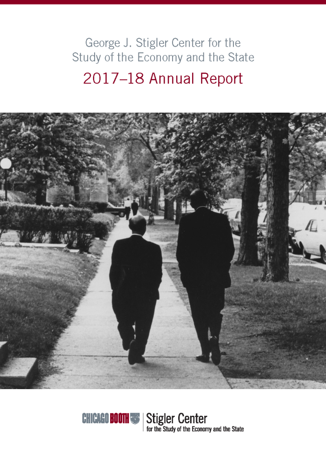Stigler Center Annual Report 2017-18