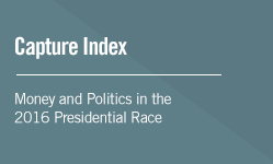 Capture Index | Money and Politics in the 2016 Presidential Race