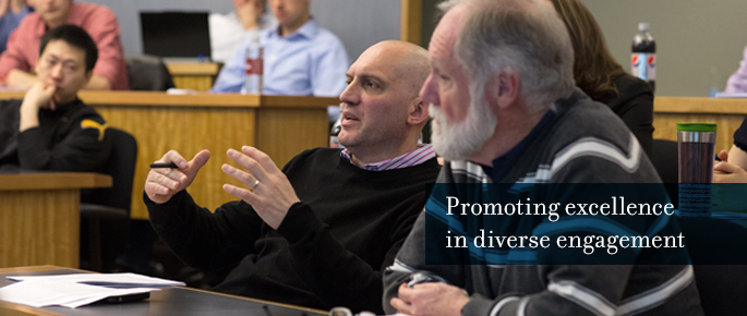 Promoting excellence in diverse engagement