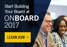 Start building your board at On Board 2017. Learn how.