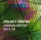 Polsky Center Annual Report 2013-14