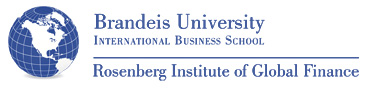 Brandeis University International Business School - Rosenberg Institute of Global Finance Logo