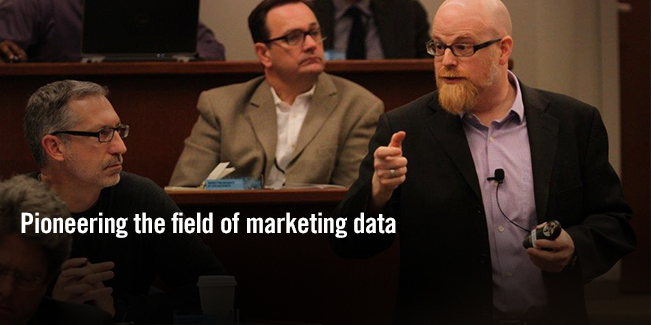 Pioneering the field of marketing data